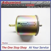 Sytec Motorsport In Line Fuel Filter 8mm Tails In & Out SSF3040 75mm Steel Body